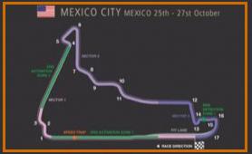 Gran Premio México @ Circuito Hermanos Rodriguez 48 vueltas