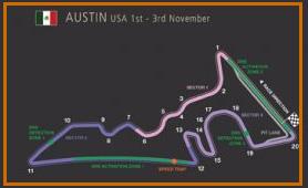 Gran Premio EEUU @ Circuito de las Américas 39 vueltas