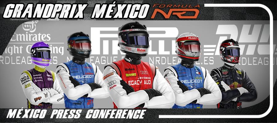 Rueda de Prensa, México 2019