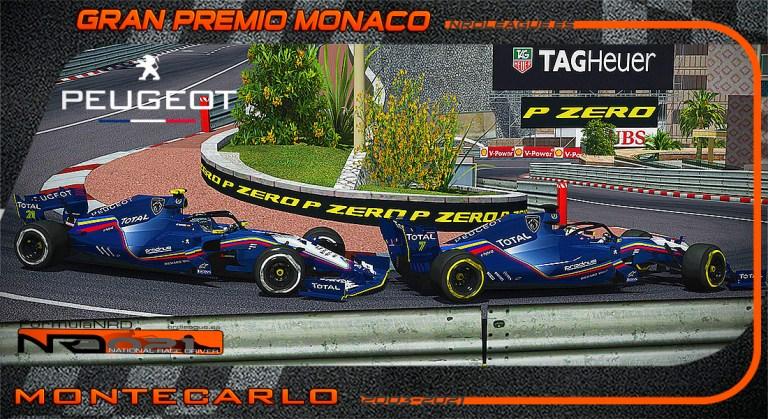 Peugeot F1 Team presenta una decoración especial para el Principado