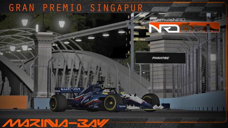 Singapur territorio LoCuRa, 2 victoria del año en su Circuito talismán.