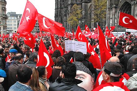 Türkisch nationalistische Demo in Köln Wolfgang Geissler