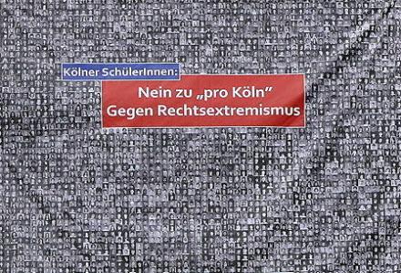 Kölner Schüler gegen Pro Köln