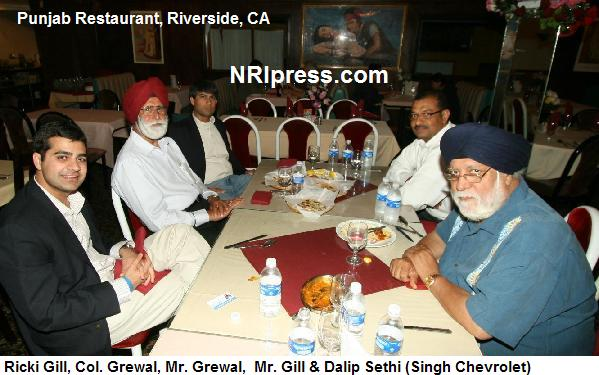 Ricky Gill, Republican candidate for Congress, attends a fundraiser in May, 2011 (source: NRI Press)