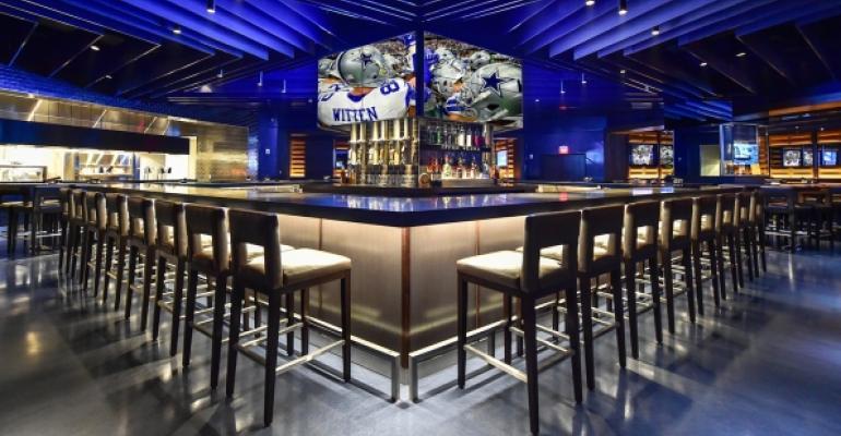 Stadium Club Restaurant Opens At Dallas Cowboys Home