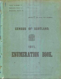 1911 Scotland Census Released