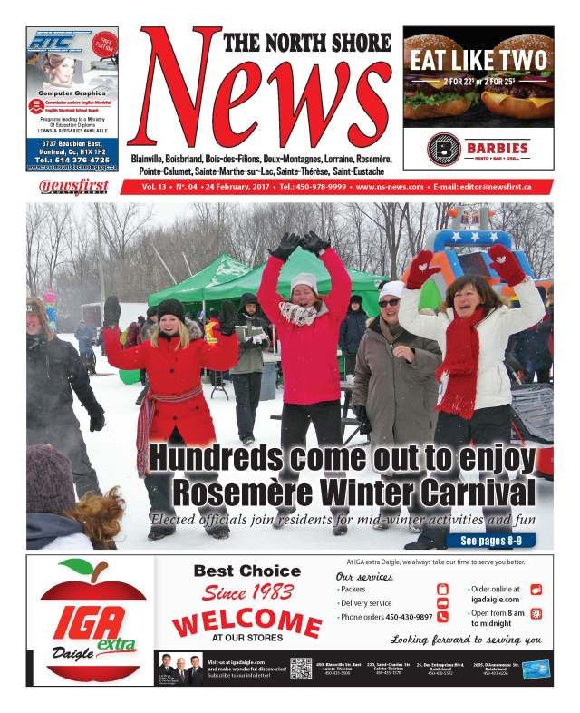 Front page image of the North Shore News Volume 13-4