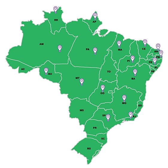 Mapa distribuidores 01 - DISTRIBUIDORES