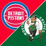 Pistons @ Celtics Free Pick