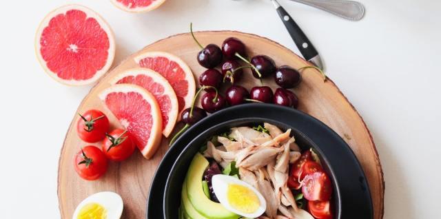 grapefruit egg avocado