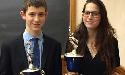 Hunter College's Nina Potischman is the Yale Champion