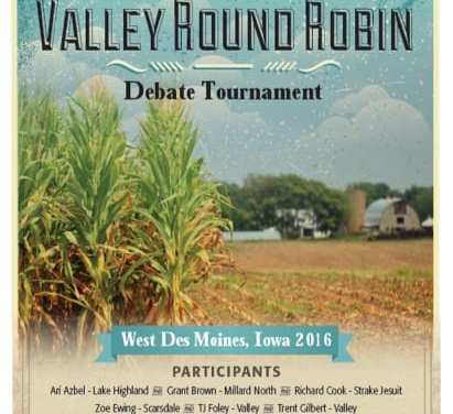 Fields released for Valley Round Robin and Sophomore Throw-Down
