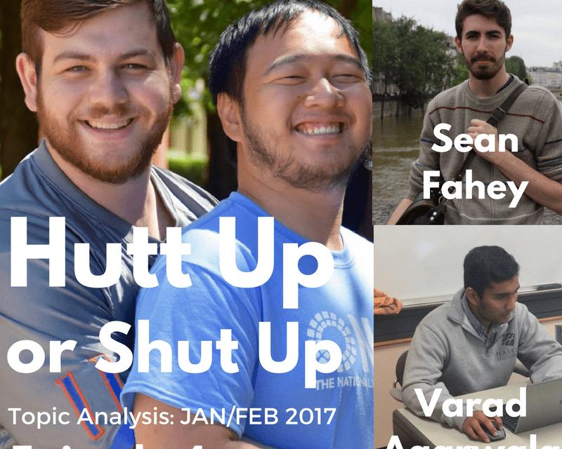 Hutt Up or Shut Up E4: Guests Varad Agarwala and Sean Fahey