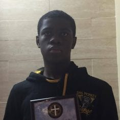 Newark's Osmane Sanogo Wins Holy Cross