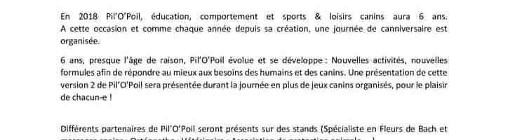 Canniversaire de Pil'o'Poil – 4 Février 2018 – Verruyes (79)