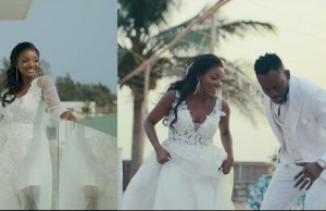 "Nigerian Singer ""Simi"" and husband wedding"