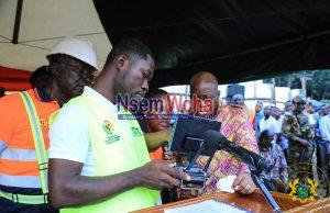 Nana addo launches community mining