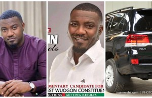 john dumelo picks forms to contest in ayawaso west wuogon