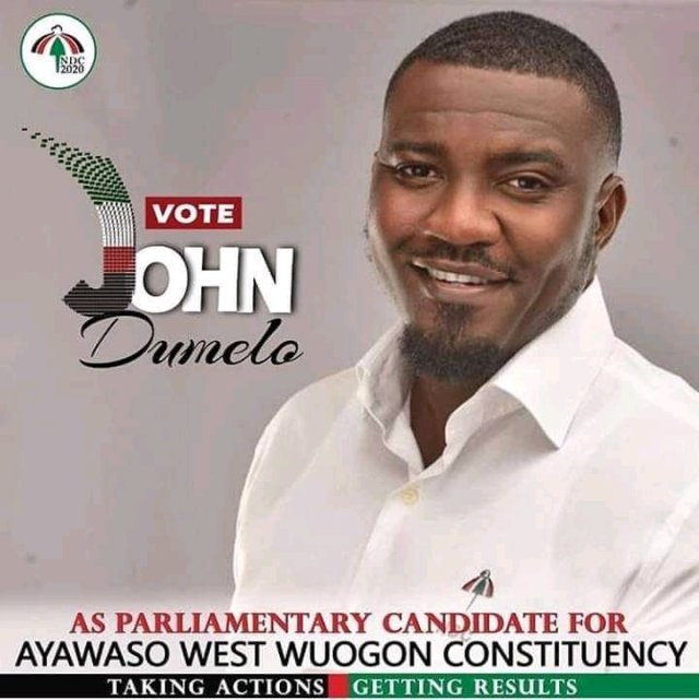 John Dumelo contests Ayawaso West Wuogon primaries