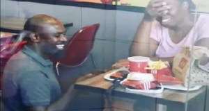 KFC Proposal couple getting engaged