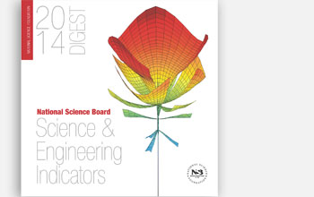 Cover of 2014 Science and Engineering Indicators report.