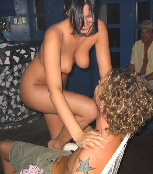 Naked Stripper Whoring Around Guys In Party | Nsfw Sluts