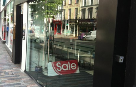 Toughened glass doors in the sony centre Cork City