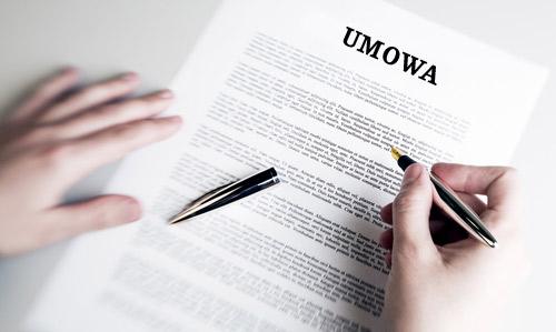 Tłumaczenie umowy