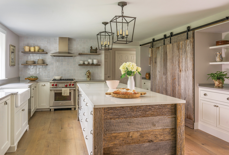 Rustic Kitchen Design Northshore Magazine
