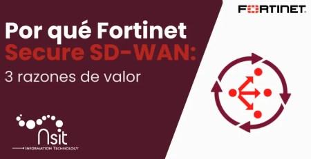 Por qué Fortinet Secure SD-WAN nsit