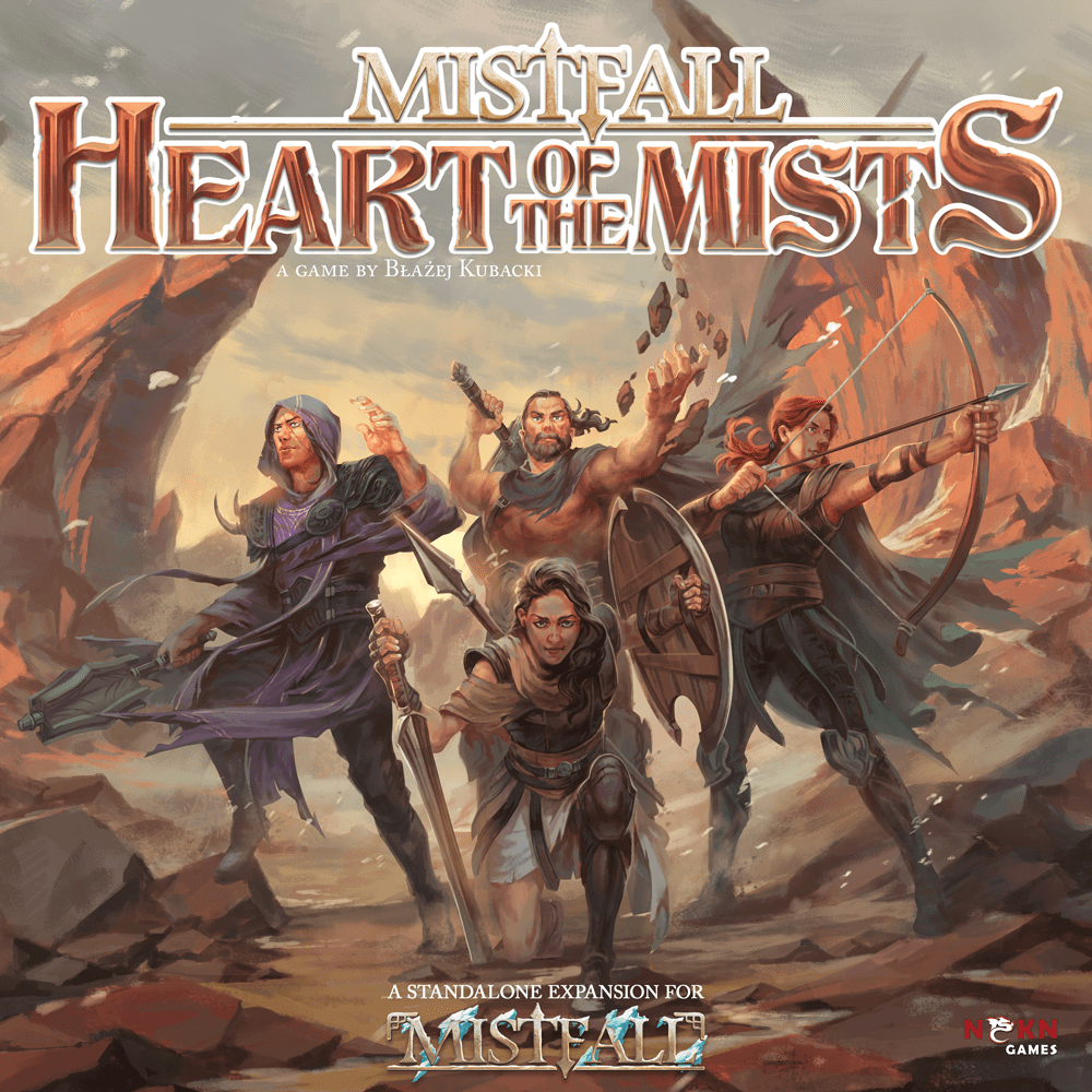 Image result for Mistfall: Heart of the Mists board game