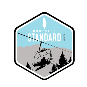 Northern Standard ski lift sticker