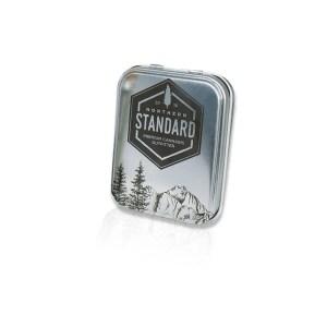 Square Northern Standard aluminum cartridge tin