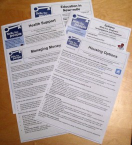Skills for People information booklets and factsheets
