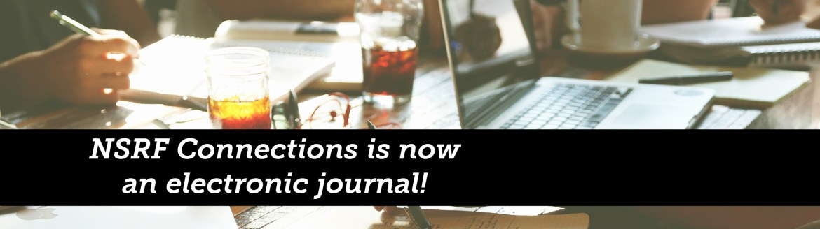 Connections is now an electronic journal!