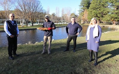Monaro hooks new trout attraction to lure visitors