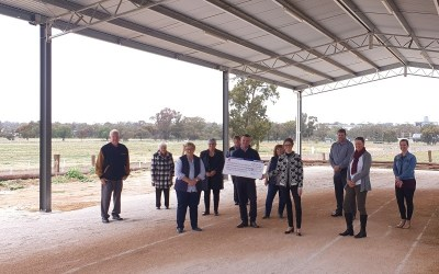 Showground upgrade to help during pandemic