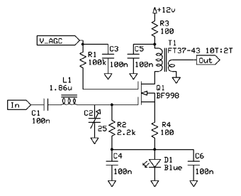 Dual Gate MOSFET AGC