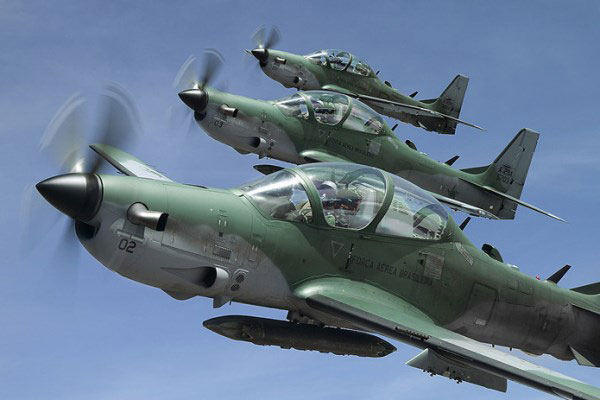 Image result for US approves Super Tucano attack planes for Nigeria