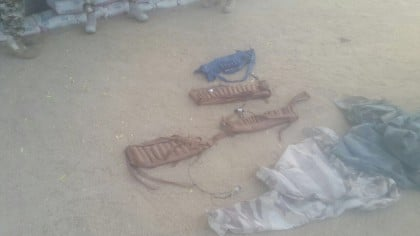 Boko Haram IED Factory Discovered and Destroyed In Konduga, Borno State