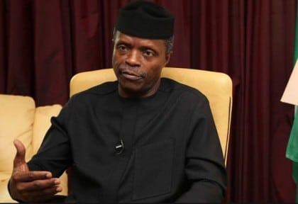 Osinbajo Re-States Govt's International Cooperation In Forming Credible Force Against Terrorism