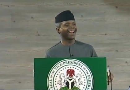 Vice President Osinbajo Scores Nigerian Jollof Rice High