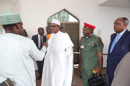 I Know the Weight on My Shoulders, I Will Not Let You Down – President Buhari