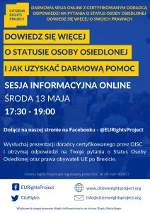 EU citizens rights project in Polish