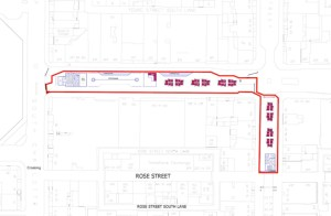 map of proposal for George St