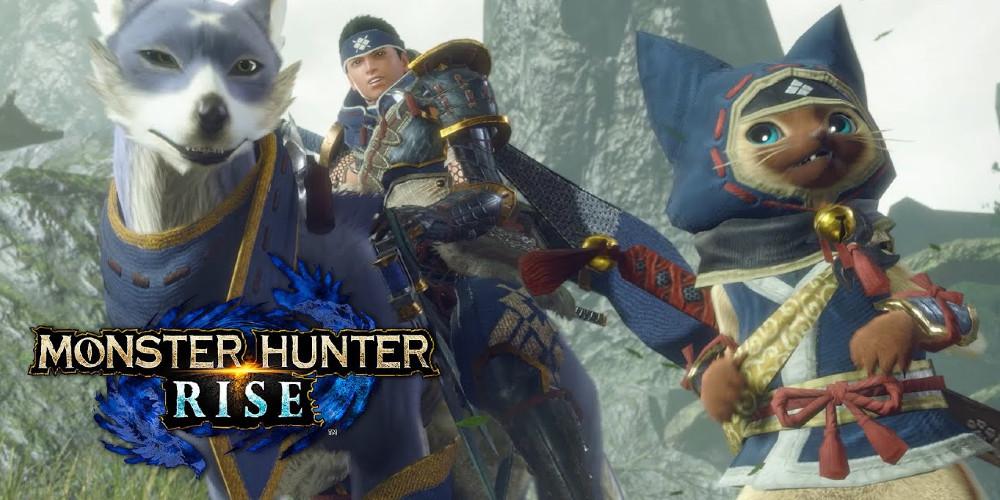 sur YT:  Monster Hunter Rise: Capcom publie de courtes vidéos de gameplay sur  infos