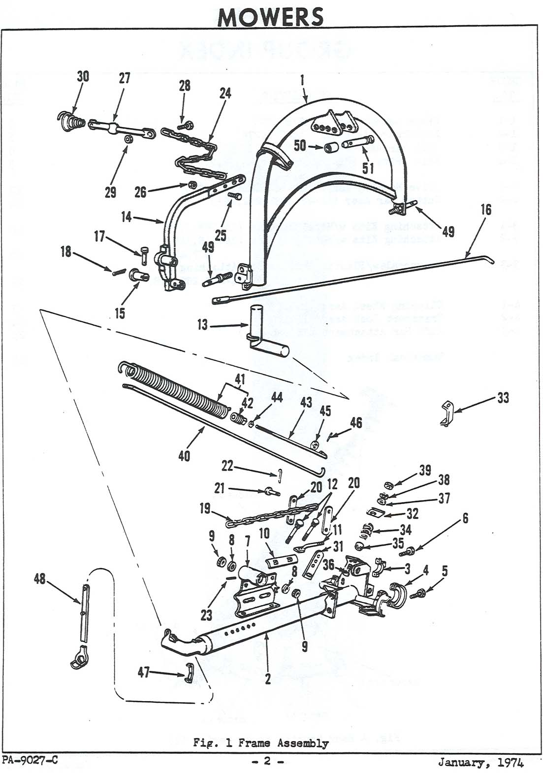 Ford Flail Mower Parts