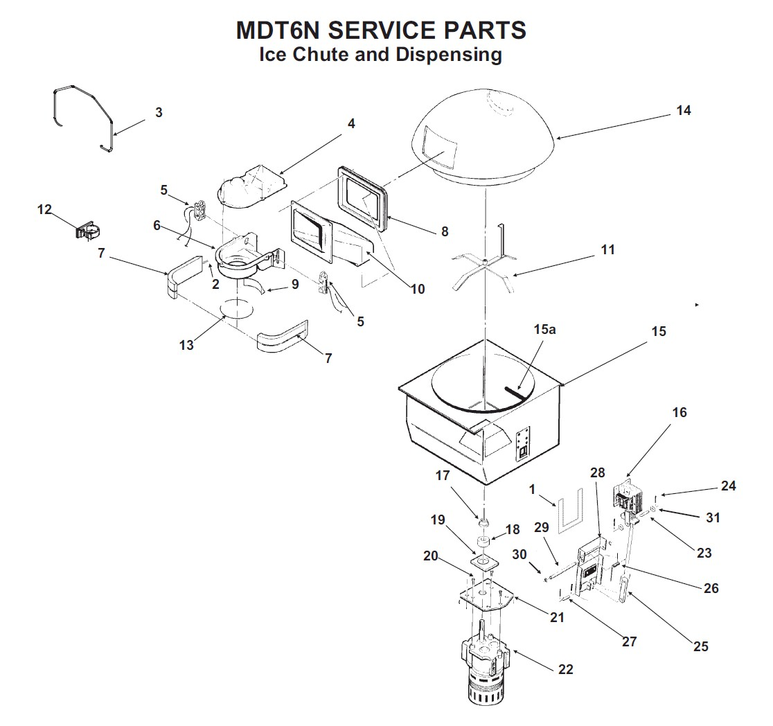 Scottsman Mdt6n90 Parts Diagram Nt Ice