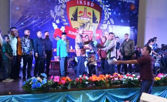 Hadiri Natal Bersama Warga SBD di Bali, Ini Pesan Wakil Bupati