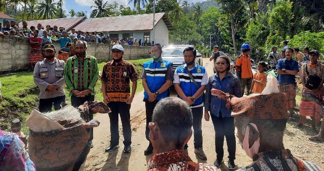 Elektrifikasi daerah 3T, PLN Sambung Listrik 4 Desa di Kabupaten TTS